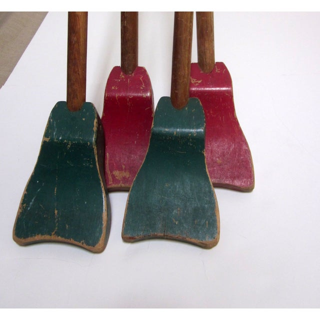1940s Folk Art Shuffleboard Sticks - Image 3 of 8