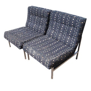 Vintage Florence Knoll Lounge Chairs - A Pair