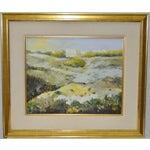 Image of Vintage Landscape Oil Painting c.1980's