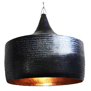 Hammered Dark Bronze Lantern