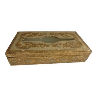 Italian Florentine Tissue Box Cover