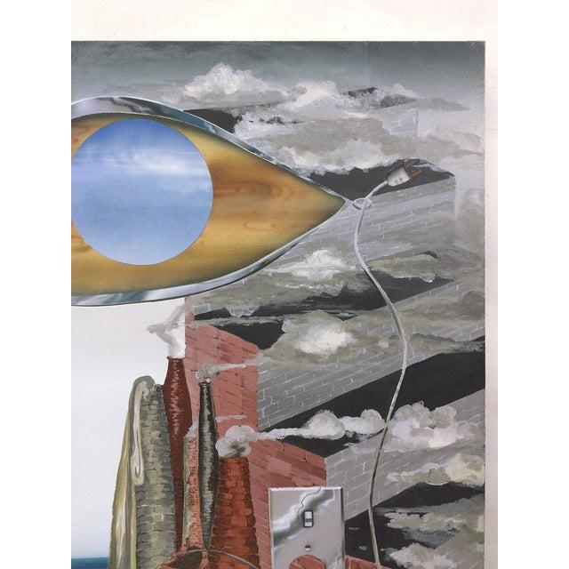 Image of Surrealist Painting Signed William Douglas McGee