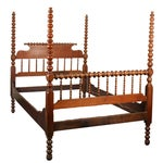 Image of Tall Full Size Jenny Lind Spindle Bed