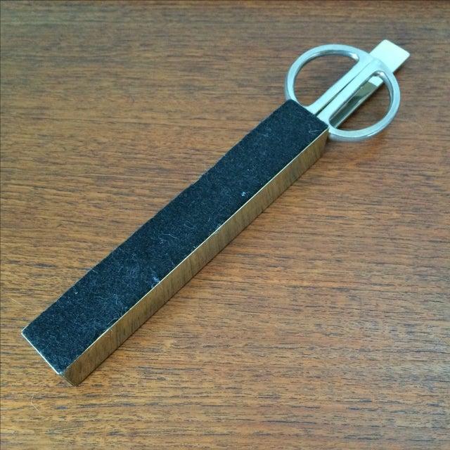 Vintage Brass Scissors and Letter Opener Set - Image 9 of 9