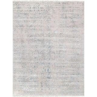 "Pasargad Transitiona Silk & Wool Rug - 8'10"" X 11'10"""