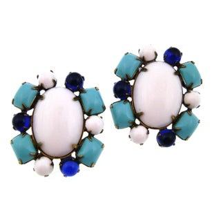 1960S K.J.L. Mod Earrings