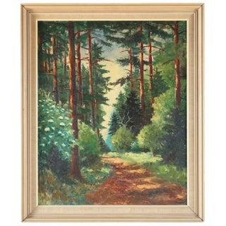 Parc de Chambord Oil Painting