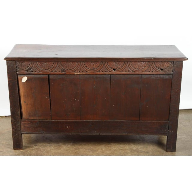 19th Century English Oak Sideboard - Image 9 of 10