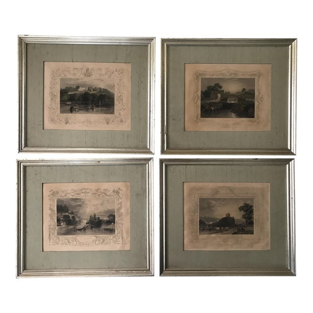 Antique Framed Prints by William Tombleson - Set of 4 - Image 1 of 11