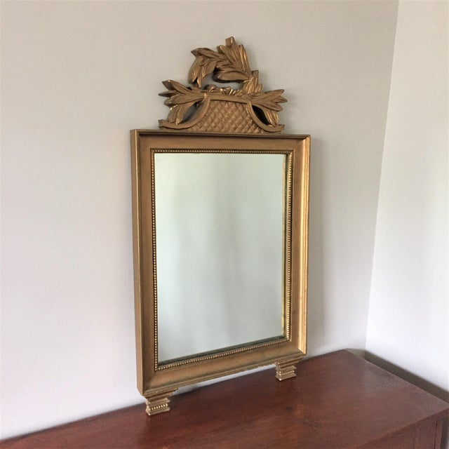 Vintage Gold Wall Mirror - Image 2 of 7