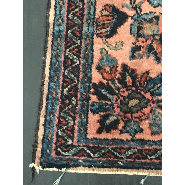 Antique Persian Lilihan Rug - 2′2″ × 3′ - Image 8 of 8