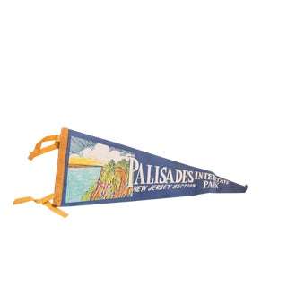 Palisades Interstate Park New Jersey Section Felt Flag