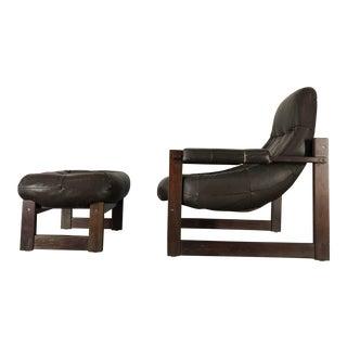 Percival Lafer Lounge Chair & Ottoman