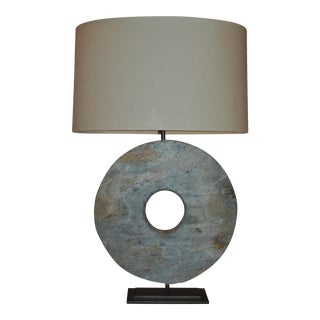 Carved Stone Emerson Lamp by Arteriors
