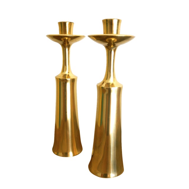 Jens Quistgaard for Dansk Candleholders - A Pair - Image 1 of 6