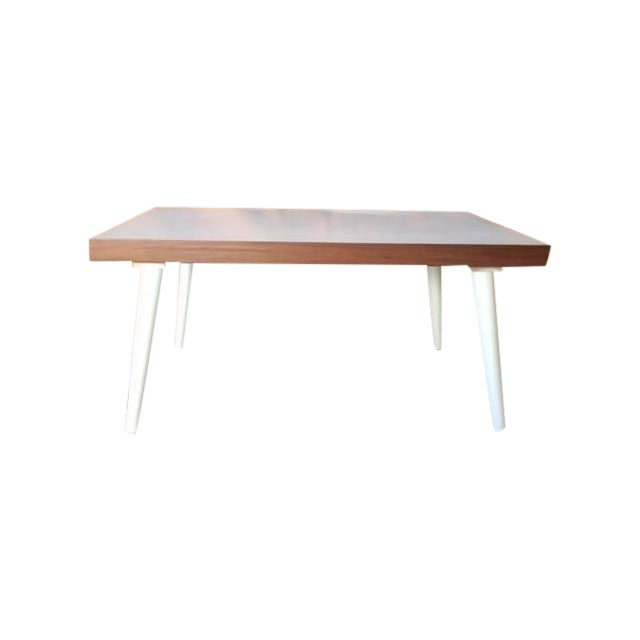 Mid-Century White Coffee Table - Image 1 of 7