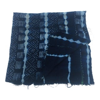 African Dogon Indigo Cotton Cloth Fabric