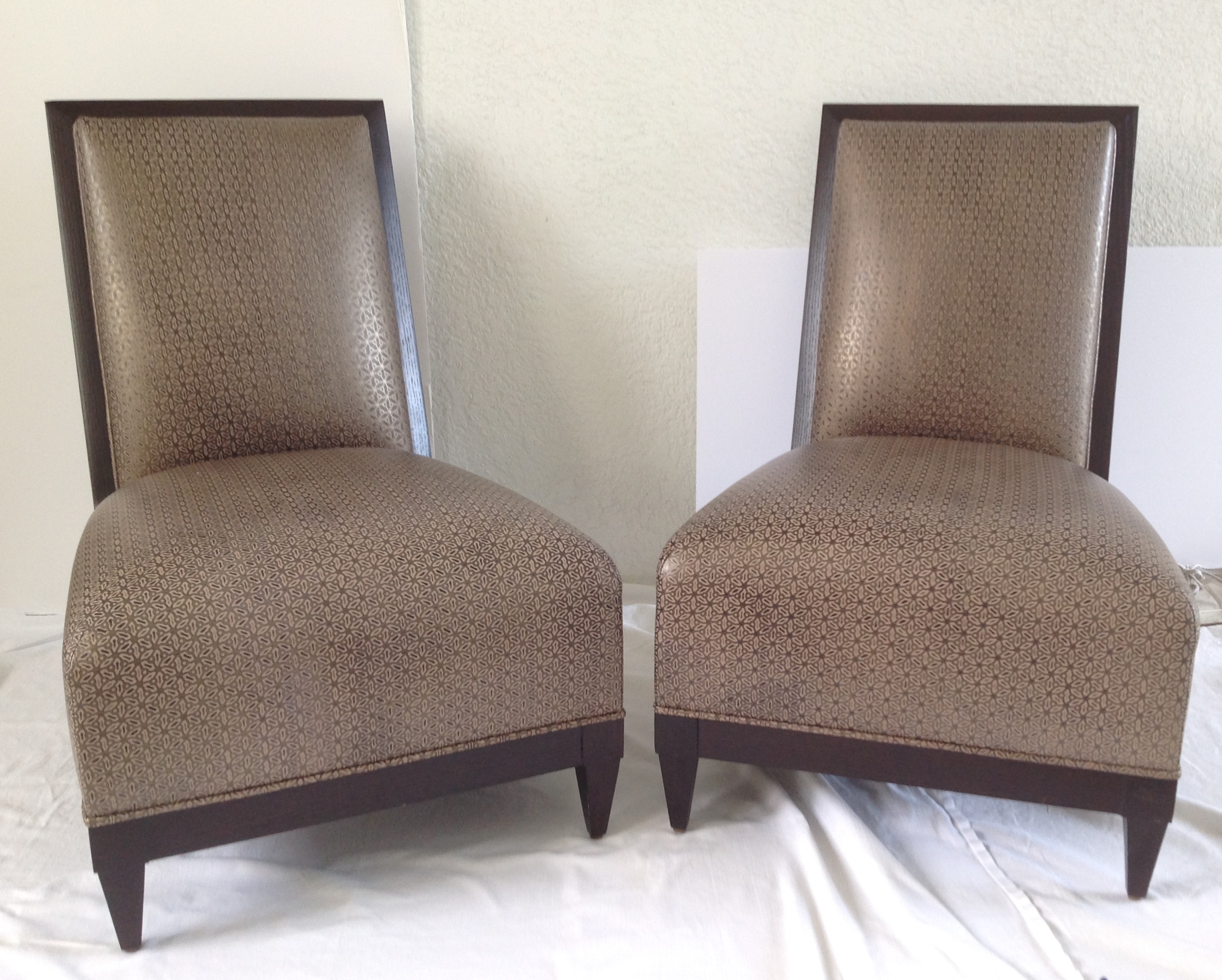 Donghia Panama Occasional Chairs   A Pair   Image 2 Of 11