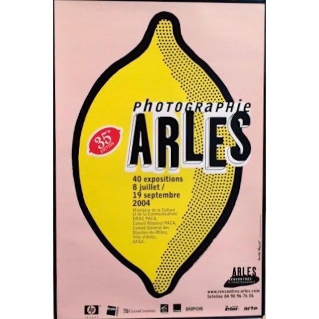 Image of Michel Bouvet Festival Poster - Lemon