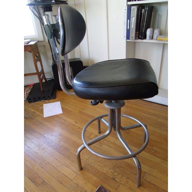 Steelcase Vintage Drafting Stool 1960s Chairish