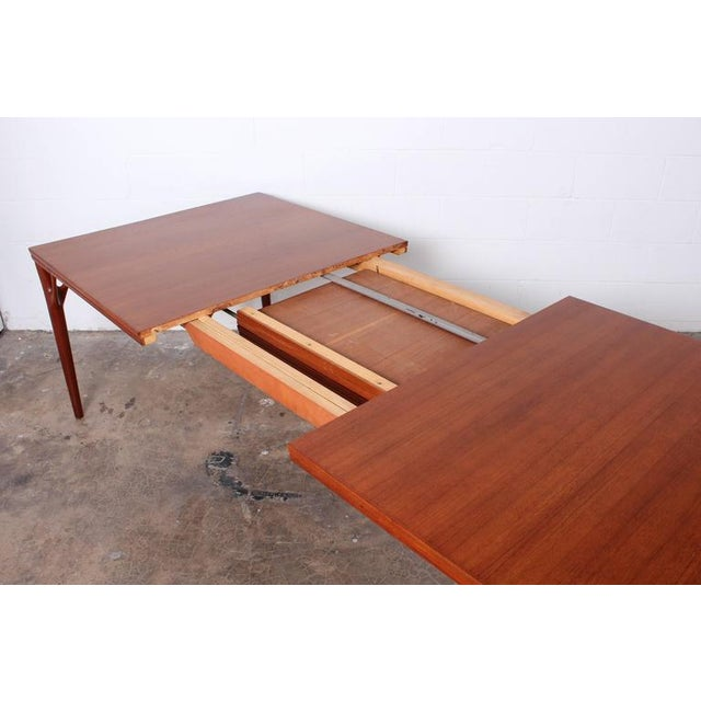 Sculptural Teak Dining Table - Image 6 of 10