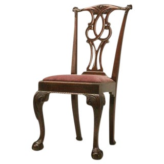Irish Chippendale Side Chair