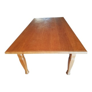 Indonesian Solid Wood Dining Table