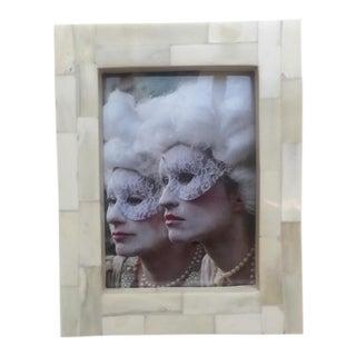 White Bone Picture Frame