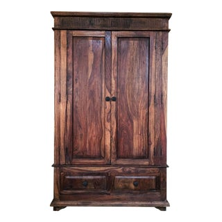 Rustic Wooden Armoire