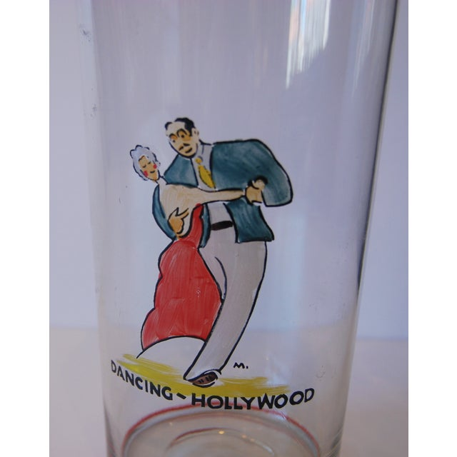 Image of Vintage 1940s Hollywood Cocktail Shaker
