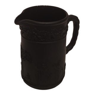 Black Wedgwood Basalt Pitcher 1942