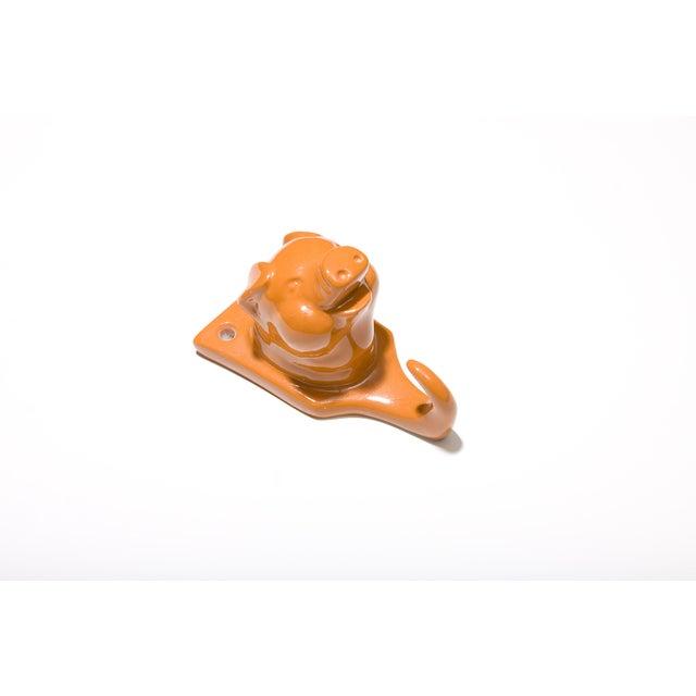 Image of Resin Pig Hook - Orange