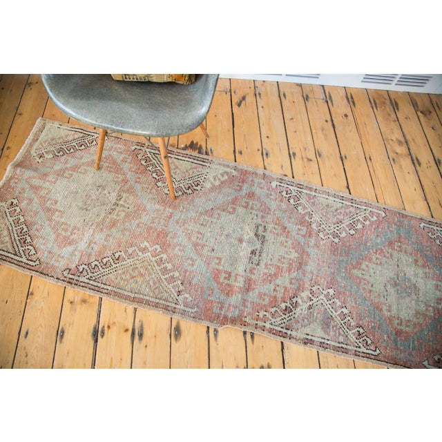 "Distressed Oushak Runner - 2'5"" X 7'5"" - Image 5 of 7"