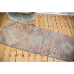 "Image of Distressed Oushak Runner - 2'5"" X 7'5"""