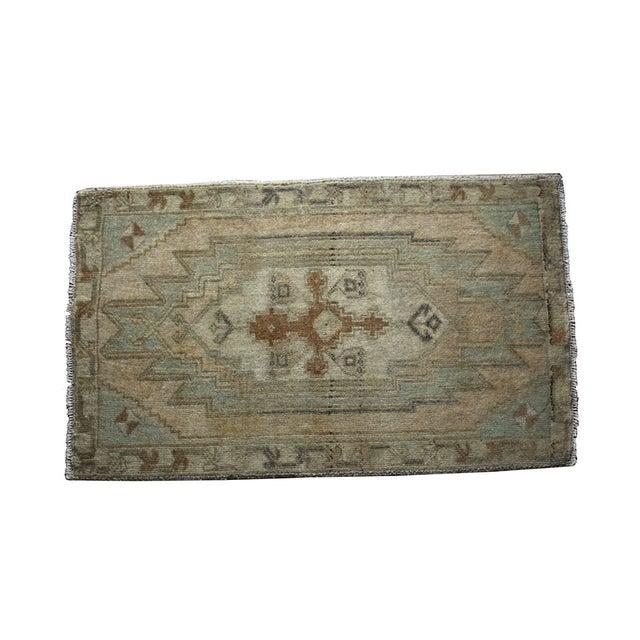 Image of Vintage Turkish Rug - 1′9″ × 2′11″