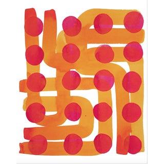 Kate Roebuck Polkadot Maze One Print