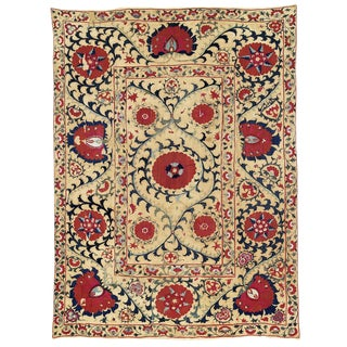 Suzani Embroidered Textile