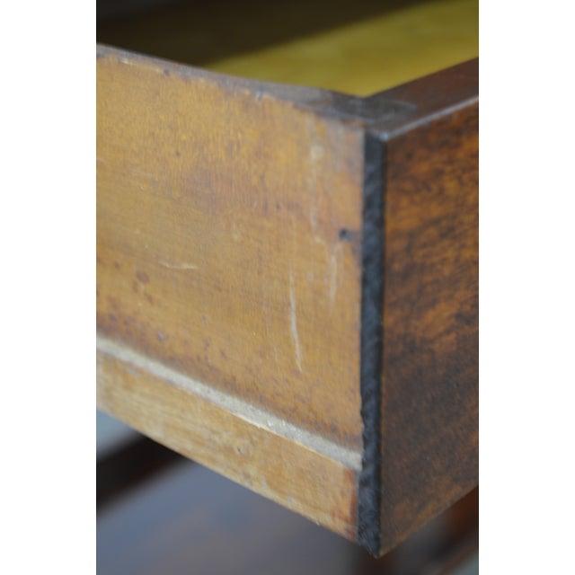 Danner Antique Mission Style Mahogany Slant Lid Writing Desk - Image 5 of 10