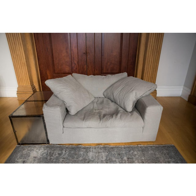 """Image of New Restoration Hardware """"Cloud"""" Chair-And-A-Half"""