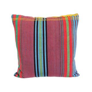 Vintage Striped Nigerian Pillow
