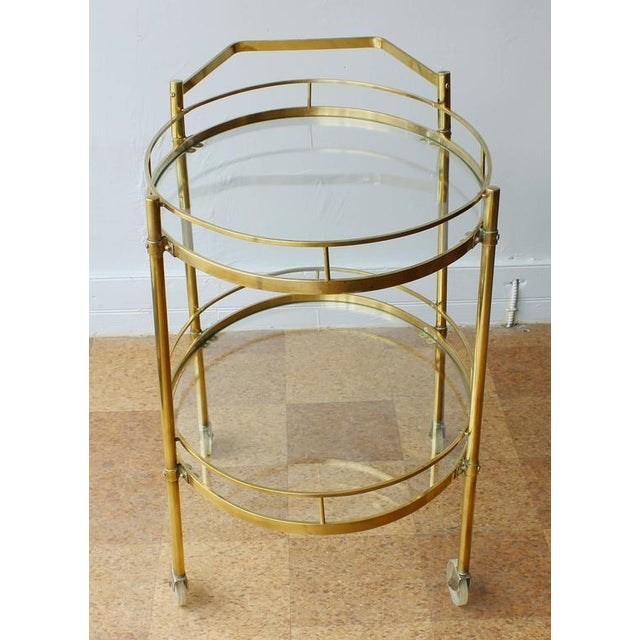 Maxwell Phillips Solid Brass Server - Image 3 of 4