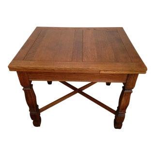 1910 English Pub Table