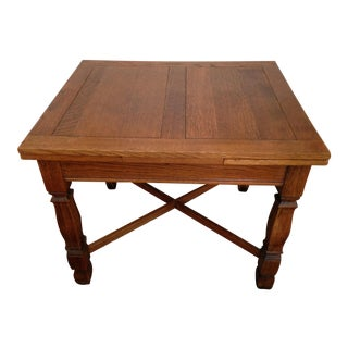 1910 English Pub Table