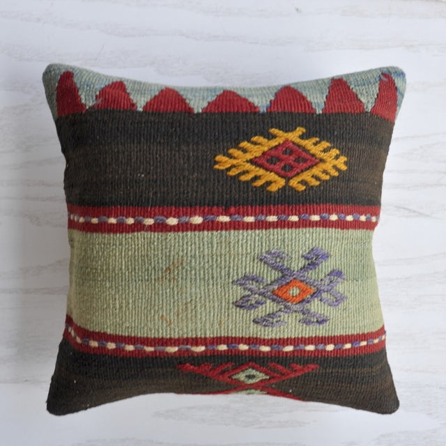 Image of Bohemian Sky Vintage Turkish Pillow Cover