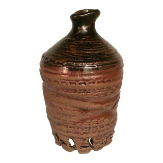 Glazed Ceramic Urn