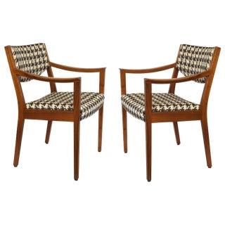 Vintage Mid-Century Gunlocke Armchairs - A Pair