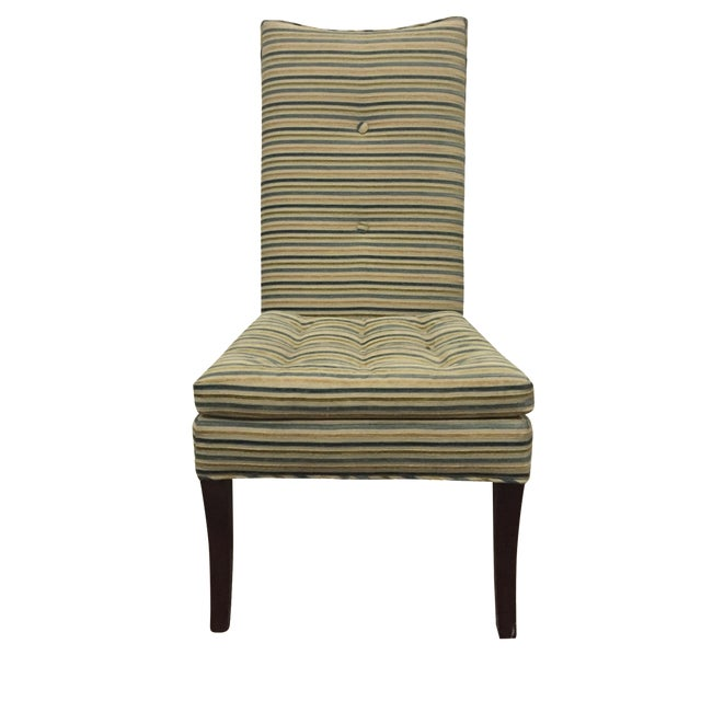 Striped R. Jones Dining Chairs - Set of 6 - Image 1 of 9