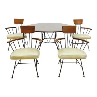 Iconic Paul McCobb Dining Chair Set & Table
