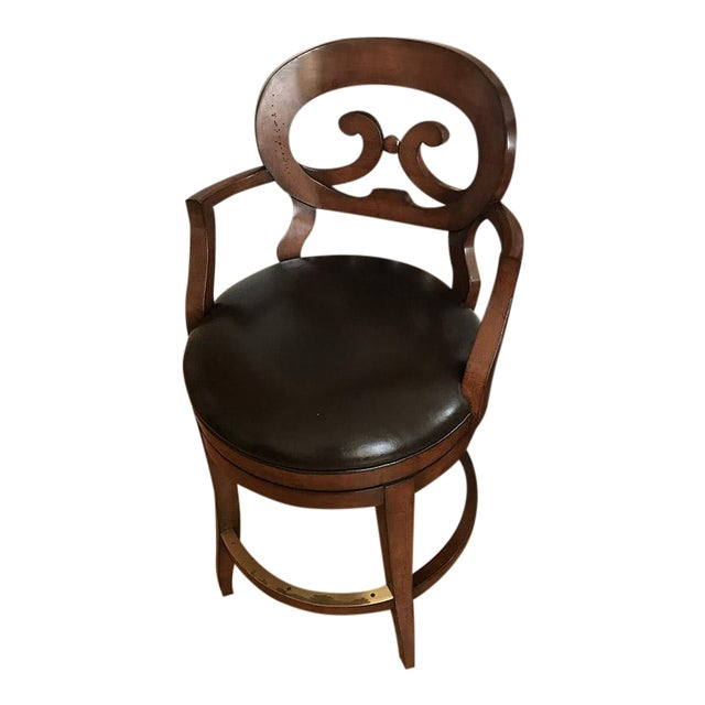 Woodbridge Furniture Armless Bar Stool - Image 1 of 6
