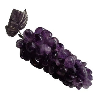 Amethyst Semi-Precious Stone Grape Bunch